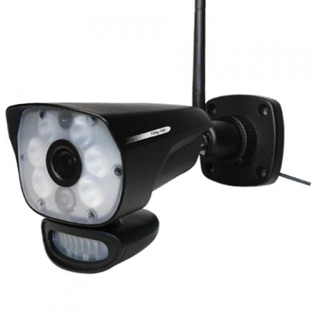 Trådløs HD Kamera m. PIR og lyssensor-0