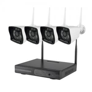 NVR WIFI KIT – 4 kanals optager med 4 kameraer-0