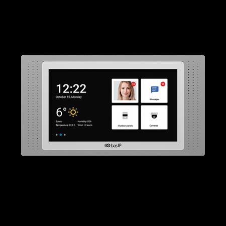 """BAS IP Svarstation / indendørs panel med 7"""" monitor"""